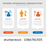business infographic template... | Shutterstock .eps vector #1086781505