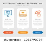 business infographic template... | Shutterstock .eps vector #1086790739