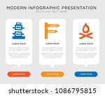 business infographic template... | Shutterstock .eps vector #1086795815