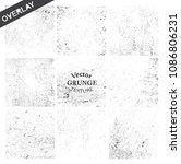 grunge textures.distress... | Shutterstock .eps vector #1086806231