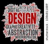 vector conceptual creativity... | Shutterstock .eps vector #1086811889