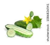 fresh  nutritious  tasty green... | Shutterstock .eps vector #1086826541