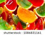 vivid colour  red  green ... | Shutterstock . vector #1086831161