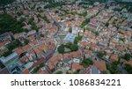 aerial view of plovdiv  bulgaria | Shutterstock . vector #1086834221