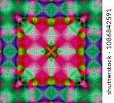 illustration of a kaleidoscope  ... | Shutterstock . vector #1086842591