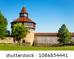 Small photo of Dicker Turm tower in Esslinger Burg, Germany