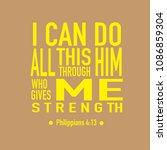 scripture from bible in... | Shutterstock .eps vector #1086859304