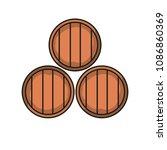 wine cellar icon. wine in... | Shutterstock .eps vector #1086860369