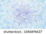 light pink  blue vector natural ... | Shutterstock .eps vector #1086898637