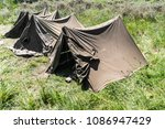 Four Army Tents From The Secon...