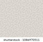 vector seamless pattern. modern ... | Shutterstock .eps vector #1086970511