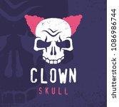 modern professional emblem... | Shutterstock .eps vector #1086986744