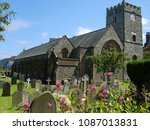 Old Church With Graveyard In...