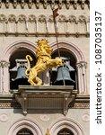 Bronze Lion Decoration On The...