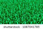 many abstract rectangular... | Shutterstock . vector #1087041785