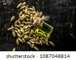 raw organic green cardamom or...   Shutterstock . vector #1087048814