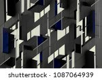 architectural planes. reworked... | Shutterstock . vector #1087064939