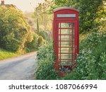 British Red Phone Box On A...