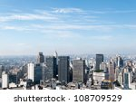 aerial view of buildings close... | Shutterstock . vector #108709529