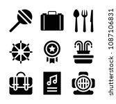 filled other icon set such as... | Shutterstock .eps vector #1087106831