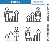 people icons. professional ...   Shutterstock .eps vector #1087124945
