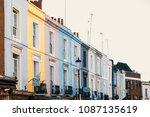 notting hill london   Shutterstock . vector #1087135619