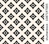 vector geometric seamless... | Shutterstock .eps vector #1087197005