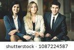 portrait of a successful... | Shutterstock . vector #1087224587