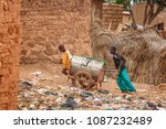 ouagdougou  burkina faso   july ... | Shutterstock . vector #1087232489