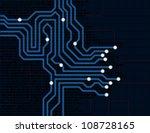 circuit board | Shutterstock . vector #108728165