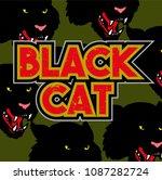 simple old school graphic... | Shutterstock .eps vector #1087282724