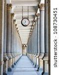 Colonnade In Karlovy Vary ...