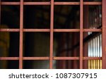 metal rusty.  focused metal... | Shutterstock . vector #1087307915