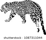 black and white vector sketch... | Shutterstock .eps vector #1087311044