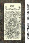 fool. the magic gate tarot deck ...   Shutterstock . vector #1087321835