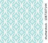 abstract seamless circular link ... | Shutterstock .eps vector #1087337144