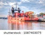 kaliningrad  russia   april 28... | Shutterstock . vector #1087403075