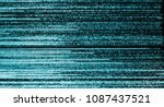 television weak signal  real... | Shutterstock . vector #1087437521