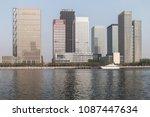 china tianjin binhai new area... | Shutterstock . vector #1087447634