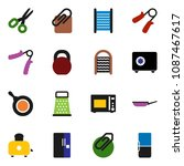 solid vector icon set | Shutterstock .eps vector #1087467617