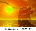 couple in a sexy attitude... | Shutterstock . vector #10875172