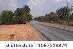 asphalt road is rebuilding. | Shutterstock . vector #1087528874