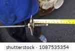 asphalt road is rebuilding. | Shutterstock . vector #1087535354