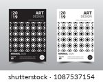 creative minimal design... | Shutterstock .eps vector #1087537154