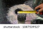 asphalt road is rebuilding. | Shutterstock . vector #1087539527