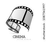 film strip vector illustration | Shutterstock .eps vector #1087561997