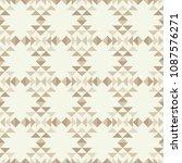 ethnic boho seamless pattern....   Shutterstock .eps vector #1087576271