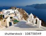 oia village on santorini island ...   Shutterstock . vector #108758549