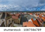 old center in town jicin  ... | Shutterstock . vector #1087586789