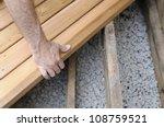 installing new deck | Shutterstock . vector #108759521
